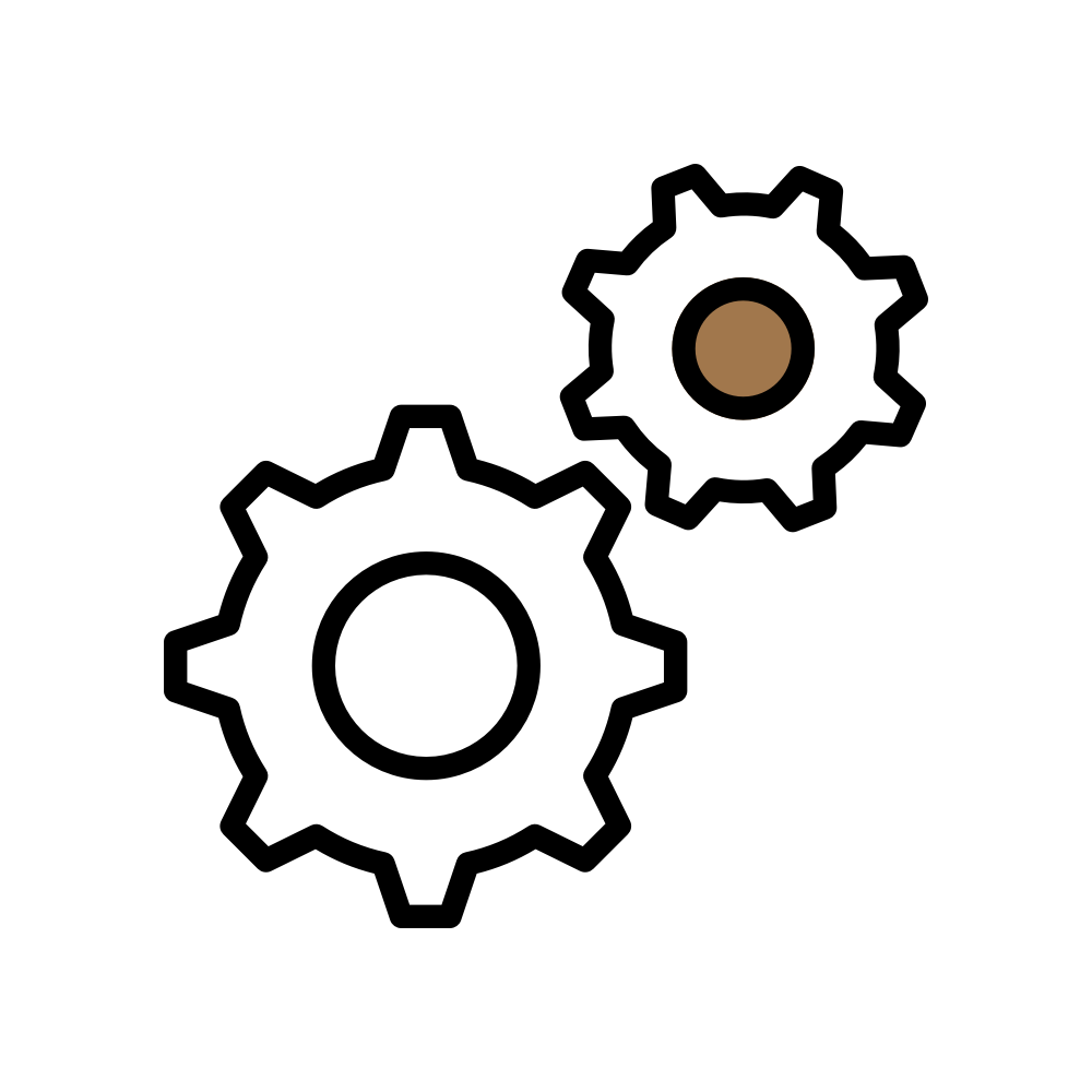 21 Content Ventures : Icons - Cog