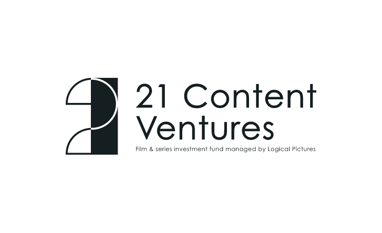 21 Content Ventures : Logo - Capsule noir