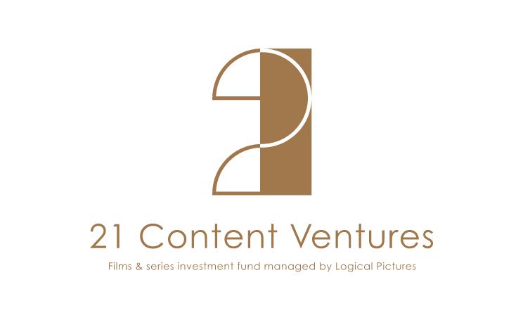 21 Content Ventures : Logo - Gold