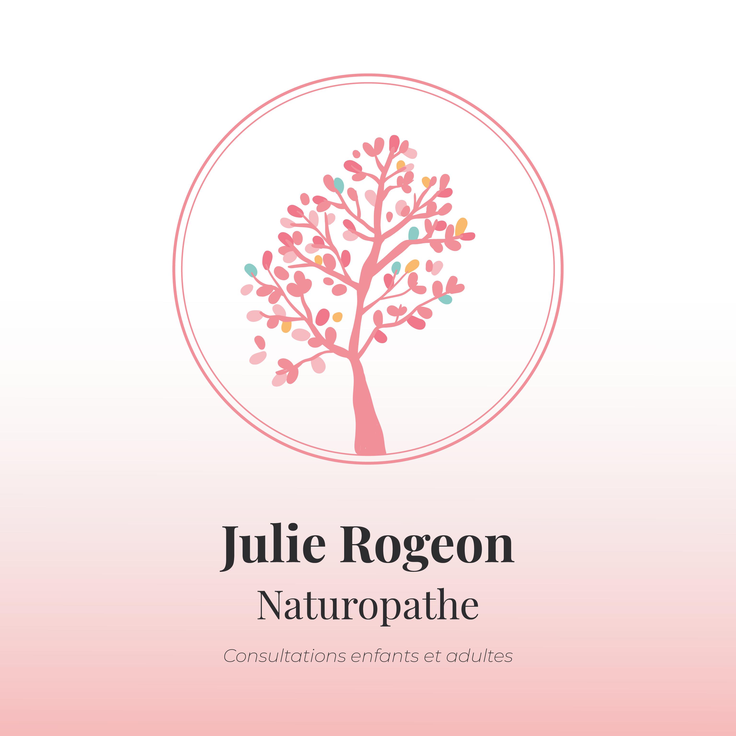 Julie Rogeon : Carte de visite - Recto
