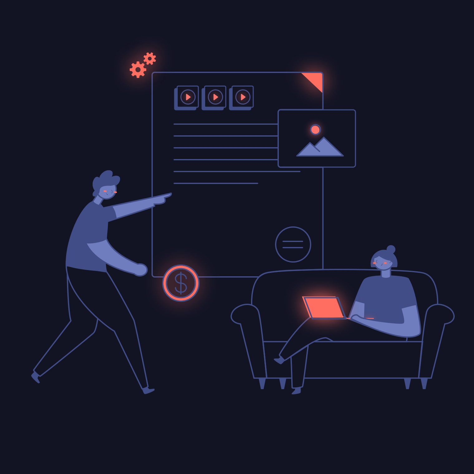 Blockframes : Illustrations - Feature Key