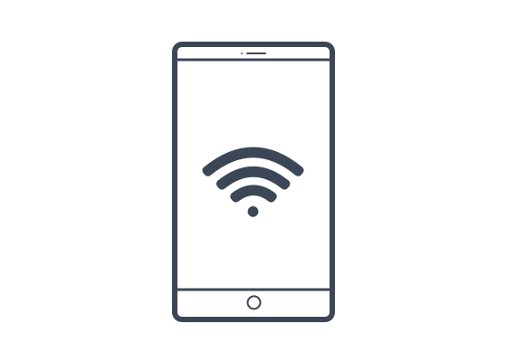 Pure Air by Rowenta : Illustrations : Wifi