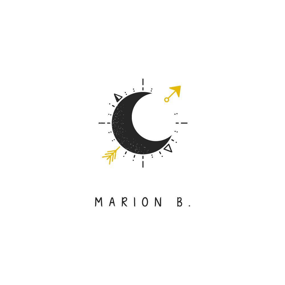 Marion b. : Logo en couleur