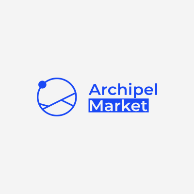 Blockframes : Logo - Archipel Market - Light