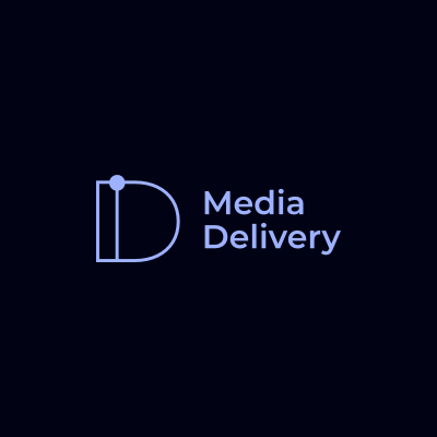 Blockframes : Logo - Media Delivery - Dark