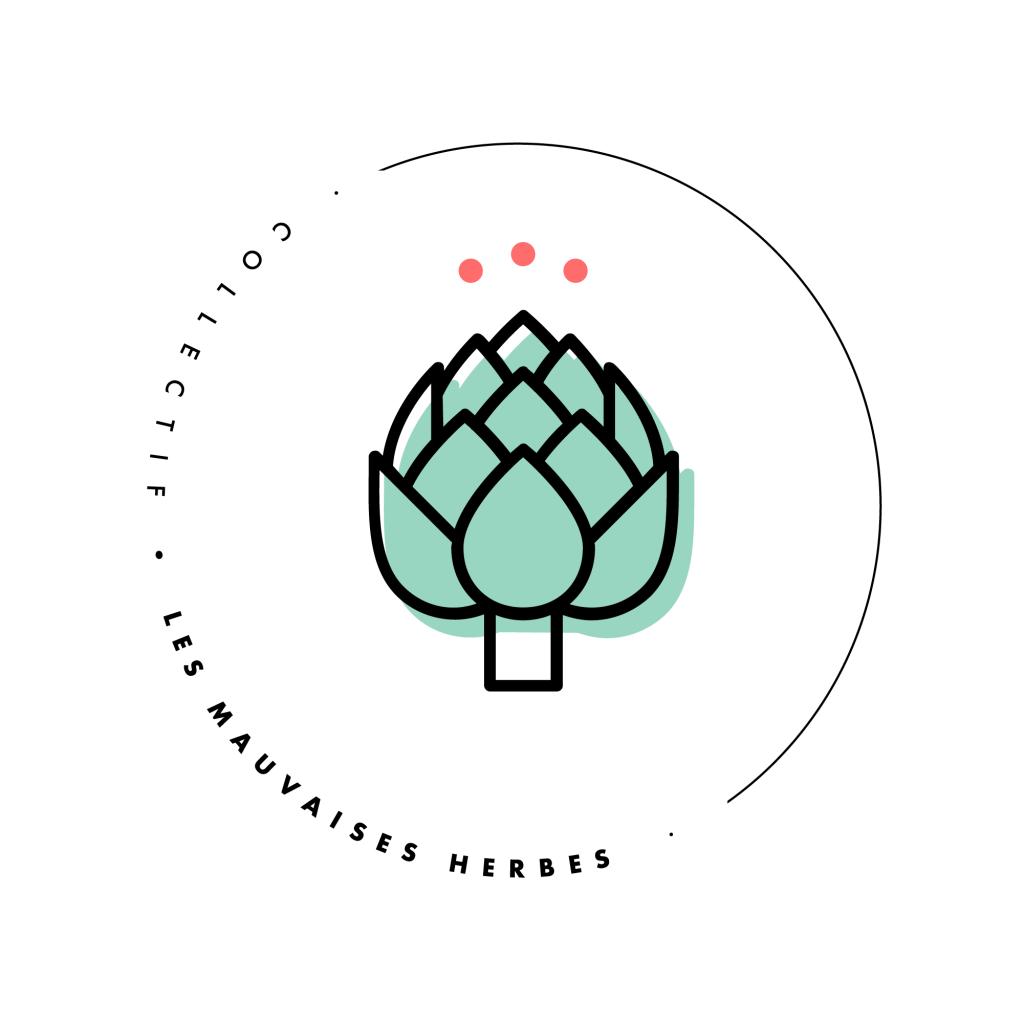 Labo : Proposition de logo - Collectif Mauvaises Herbes