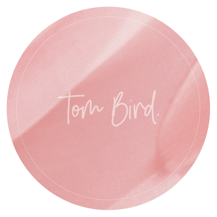 Tom Bird : Sticker rose