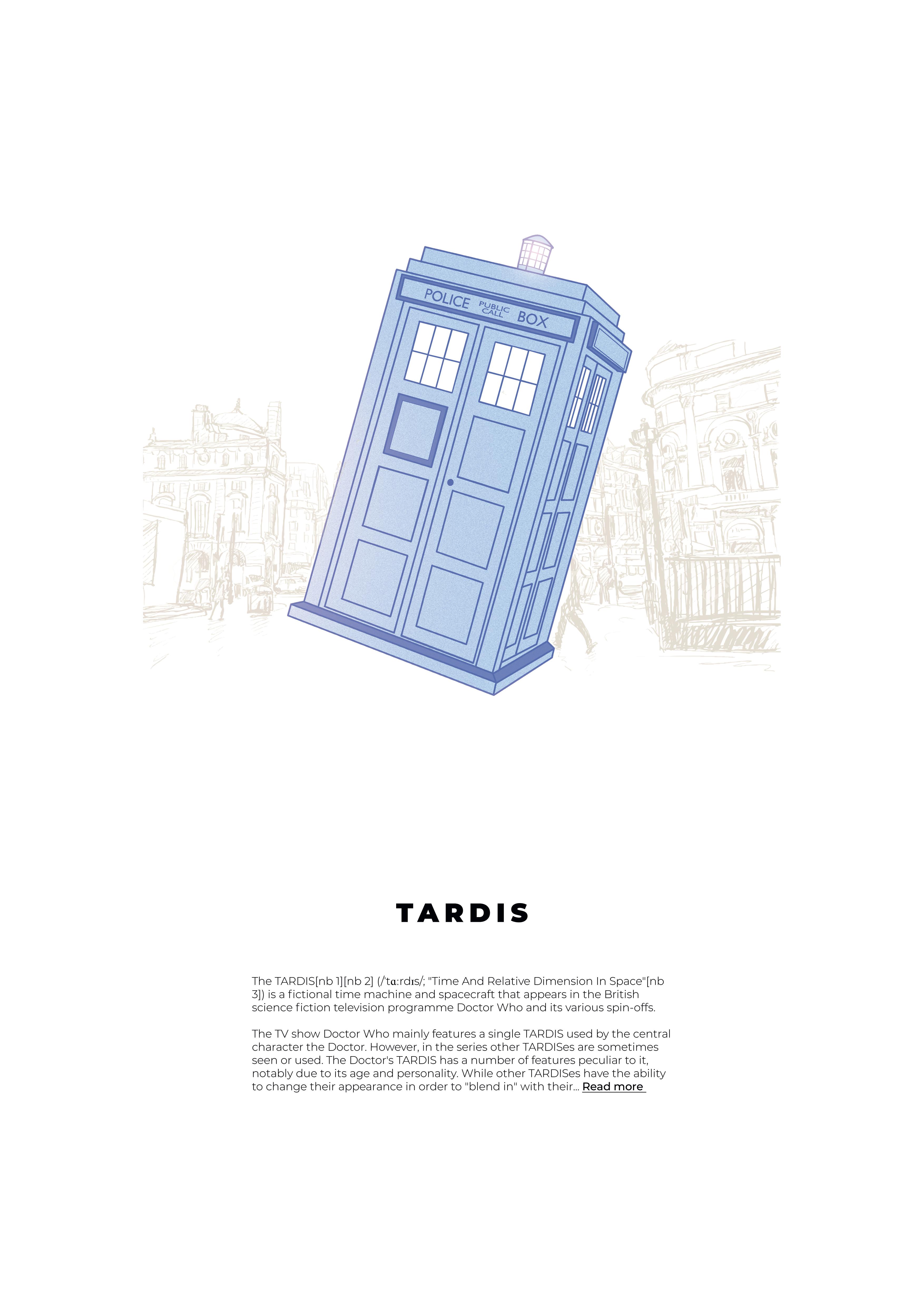 Notices : Tardis