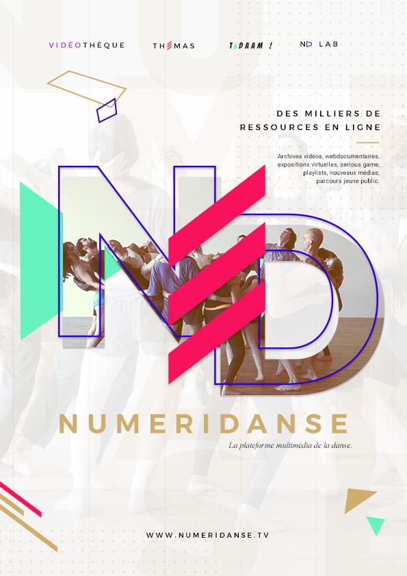 Numéridanse : Affiche - Image de marque